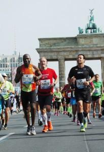 Kuma Soteh beim Berlin Marathon 2014